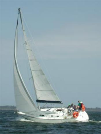 The fun of sailing
