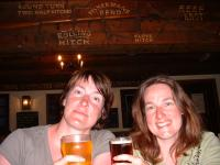 In the Anchor Pub, Cowes