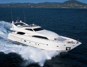 Ferretti 94 Yacht Charter