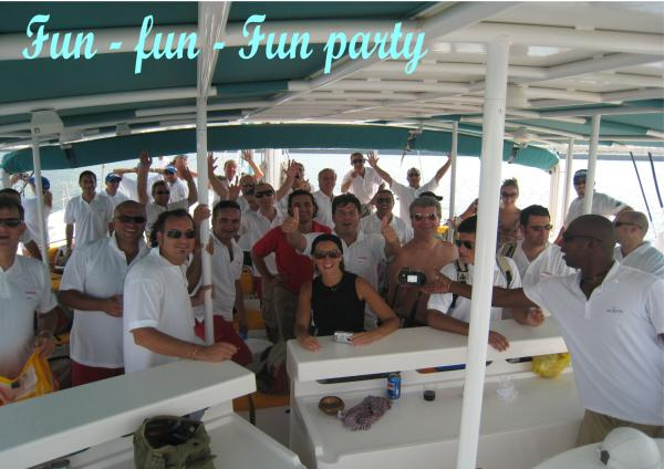 CORPORATE AND TEAM BUILDING CRUISE