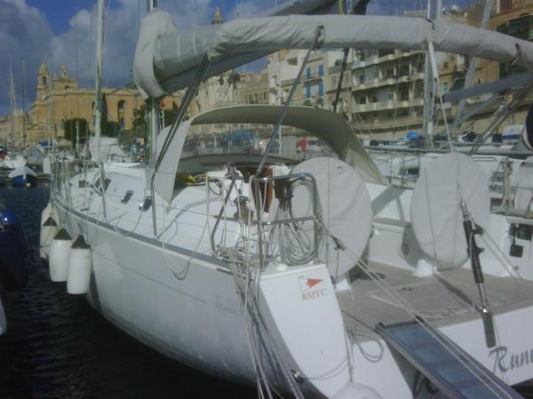 Hanse 430 at the home Base