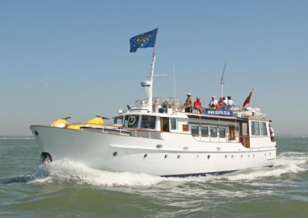 Seafin in  the Solent