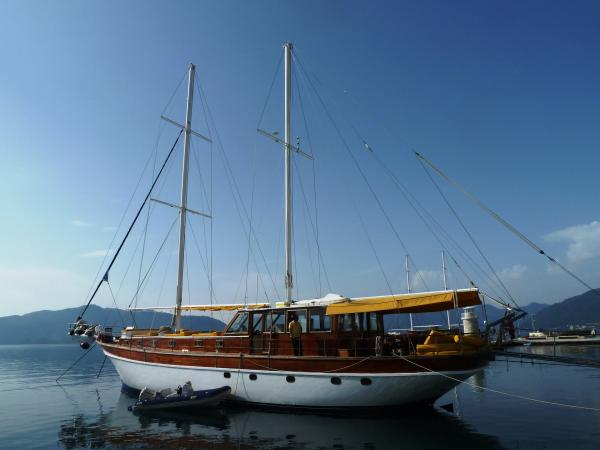East Meets West in Marmaris port