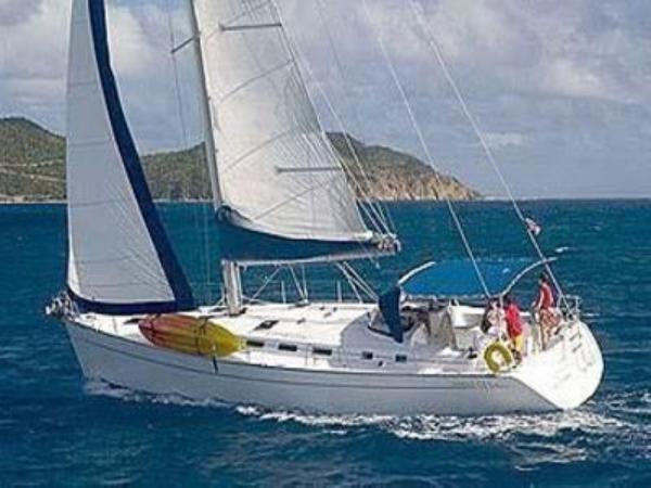 Pacific Star at sea