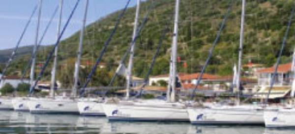 Sail Ionian base in Greece
