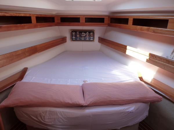 Bow shipowner cabin