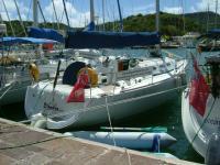 Elandra at Nelsons Dockyard