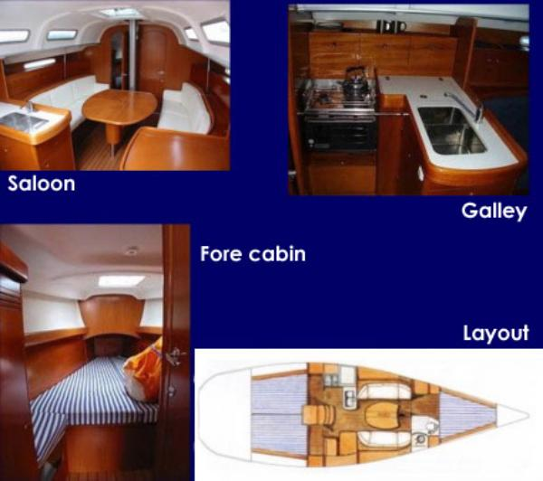 First 40.7 Interior and Layout