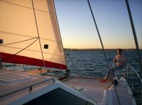 Evening Sail off Durban Seaboard