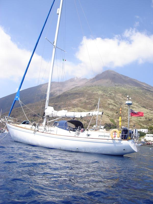 Sikabau in the island of Stromboli