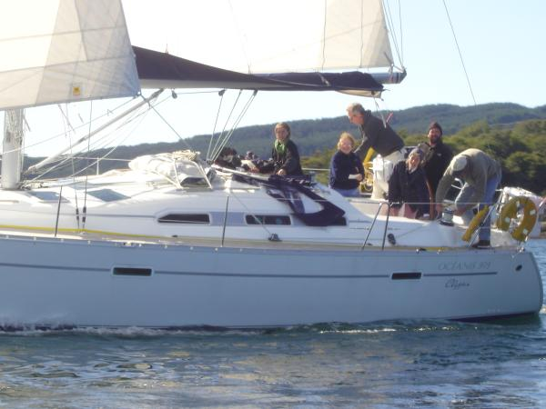 Oceanis 393 Clipper