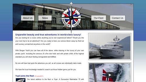 Bergen Yacht Homepage