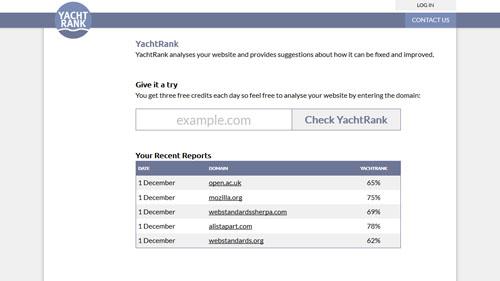 YachtRank Screenshot